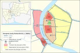 Bangkok Map File Bangkok Early Rattanakosin Map Svg Wikimedia Commons