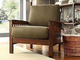 Wooden Accent Chair Lovely Wooden Accent Chair With Mission Style Chair Accent Oak