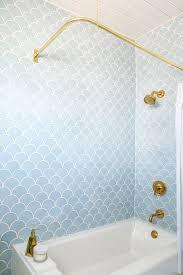 Blue Amp Green On Pinterest Cobalt Blue Green Bathroom by Best 25 Bathroom Wallpaper Ideas On Pinterest Half Bathroom