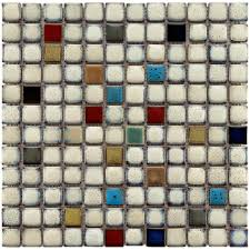 How To Install A Mosaic Tile Backsplash In The Kitchen Merola Tile Essence Square Cascade 12 In X 12 In X 8 Mm