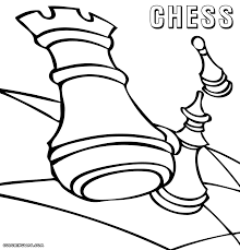 chess coloring pages coloring pages to download and print