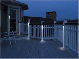 solar deck accent lights stylish deck post solar lights porch design ideas decors with
