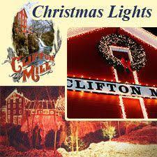 clifton ohio christmas lights clifton mills light display clifton ohio christmas pinterest