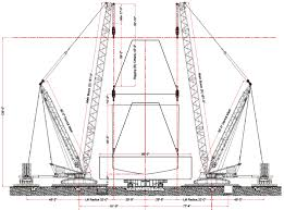 how to setup cad based crane lift plans