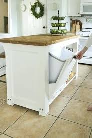 kitchen island plans free kitchen island woodworking plans kitchen island with trash storage