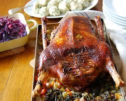 roast goose for st martin s