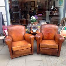 Leather Club Armchair Antique Leather Club Armchair The Consortium Vintage Furniture