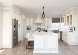 white kitchen with distressed cabinets and white kitchen cabinets the rta store