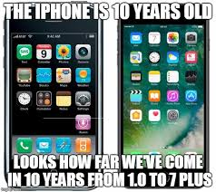 Iphone 10 Meme - image tagged in iphone vs iphone imgflip