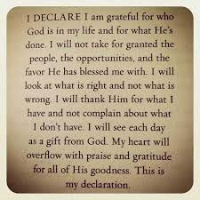 prayers for gratitude and saying thank you