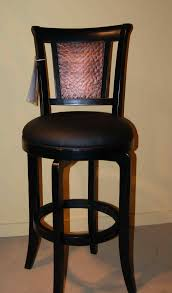 Leather Swivel Bar Stool Leather Furniture Elegant Bar Stools With Cushions For Cozy High