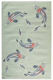 Koi Outdoor Rug Don T Why I This So Much Great For The Porch But It