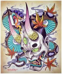 japanese hannya tattoos origins meanings ideas tatring japanese