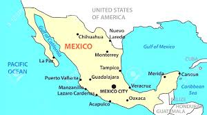 Pics Of Maps Of The United States by Map Of Mexico United States Mexico Holiday Travel Amazing Map Of