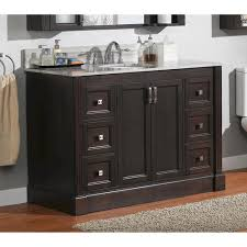 Menards Bathroom Cabinets Lovely Magick Woods Wellington 49 W X 22 D Vanity Base In Brazil