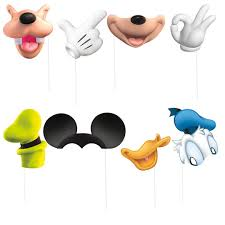 picture props mickey mouse photo booth props mickey mouse party supplies