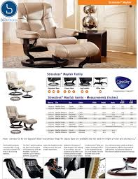 Recliners With Ottoman by Stressless Mayfair Medium Recliner With Ottoman By Ekornes