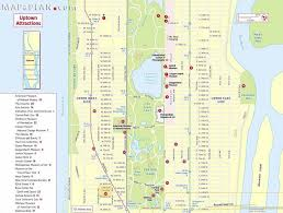 New York Zip Code Map Manhattan by New York City Most Popular Attractions Map Stuning Map Of