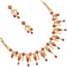 gold necklace ruby images Welcome to www 22 carat gold armlets cz jpg