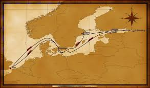Map Northern Europe by Personal Navigators 12 Night Northern Europe Cruise On Disney