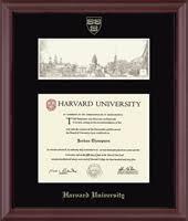 harvard diploma frame harvard diploma frames church hill classics