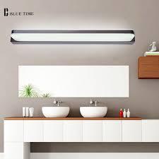 Acrylic Bathroom Mirror 60 80 100 120cm Acrylic Bathroom Mirror Front Light Led Wall Light