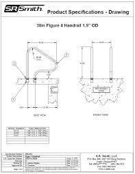 Recessed Handrail Figure 4 Handrails Commercial Official S R Smith Products