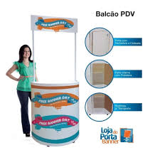 Excepcional Balcão Promocional Desmontável Completo TOP - PDV — Loja do Porta  #HX15