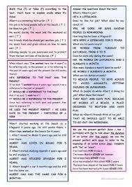 saving lives u2013 reading comprehension grammar present perfect