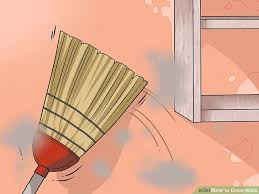 clean wall 4 ways to clean walls wikihow