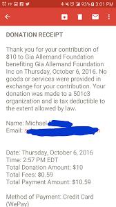 501 C 3 Donation Receipt 2016 R Hockey Charity Challenge East Vs West Edition Hockey