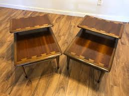 lane acclaim end table sold pair lane acclaim end tables modern to vintage