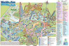 Wof Halloween Haunt by Worlds Of Fun Map Roundtripticket Me