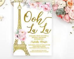 eiffel tower invitations bridal shower invitation shower invitation eiffel