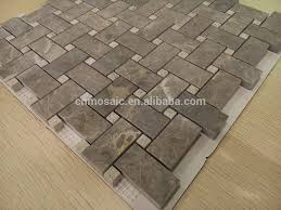 black and white marble mosaic floor tile basket weave patterns
