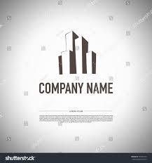 vector logo design urban building company stock vector 310524752