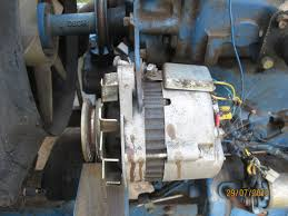 ford 1700 voltage regulator replacement