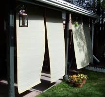 Blinds For Patio by How To Improvise Cheap Patio Blinds