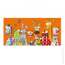 tableau deco chambre enfant tableau enfant les animaux déco décoration chambre bébé