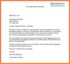 7 sample donation request letter sales intro letter