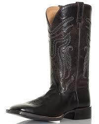s boots cowboy s 13 broad square toe boots black