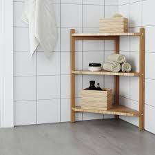 ikea corner kitchen cabinet shelf rågrund sink shelf corner shelf bamboo 13 3 8x23 5 8 ikea