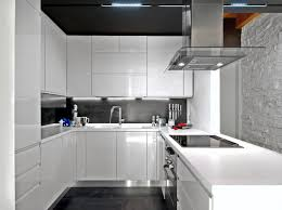 Modern Custom Luxury Kitchen Designs PHOTO GALLERY - Contemporary white kitchen cabinets
