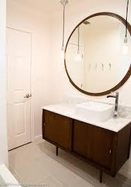 Vanity In The Bathroom Mid Century Modern Bathroom Ideas Rejuvenation Mid Century Modern