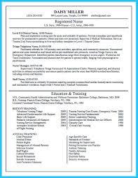 ed nurse resume resume for study