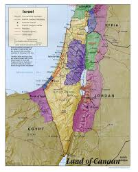 Map Of Canaan Israel Obadiah Jpg