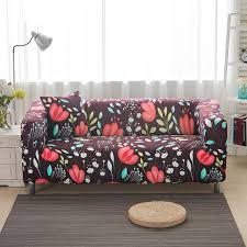 Online Shopping Sofa Covers Online Shop Sofa Covers Elastic Spandex Flower Leaves Printed