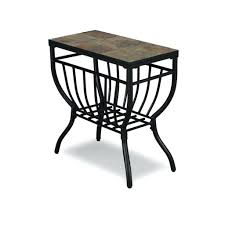 side table chair side end table 1 door drawer height chair side