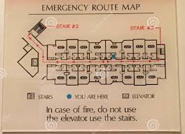 fire exit floor plan preventive safety travel tips theguytravel