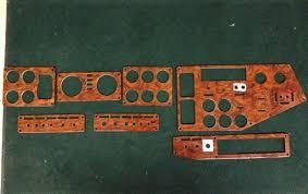 Freightliner Interior Parts Freightliner Dash Panels Rosewood U2013 Set Of 7 Red Ram Sales Ltd